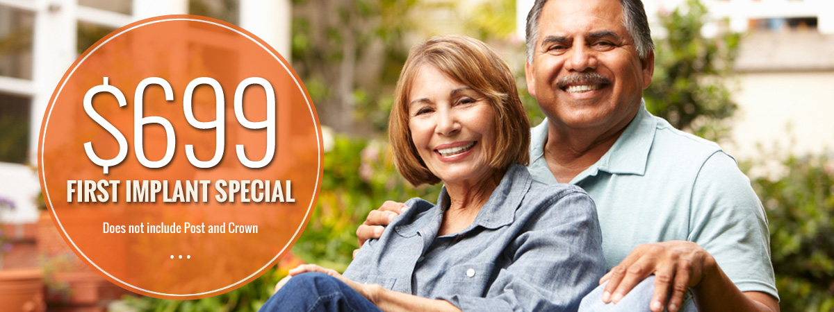 Special Promotion for First Dental Implant at Smiles on Clark, Santa Maria and Orcutt